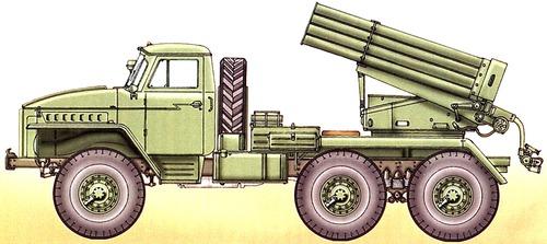 Ural-375 Grad