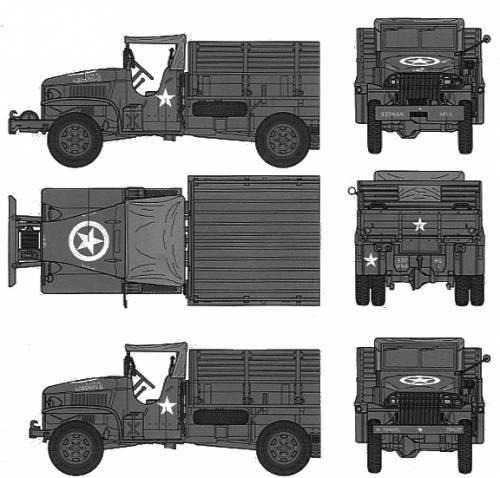 US 2.5ton Cargo Track Redball Express
