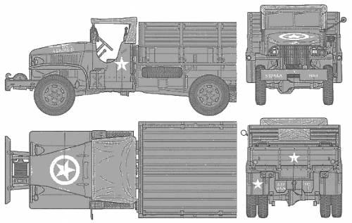 US 6x6 Cargo Truck