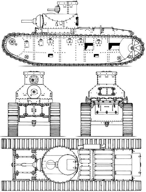 US Ordnance M1921 Medium Tank