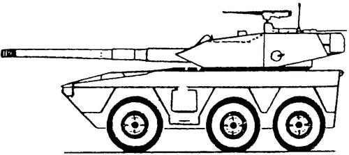 V600 Commando 105mm