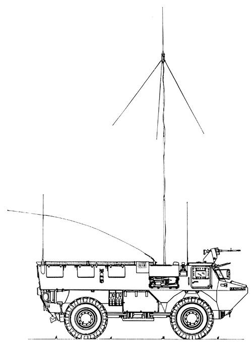 VAB 4x4 CB52 PC