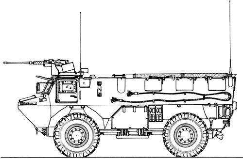 VAB 4x4 CB 12.7