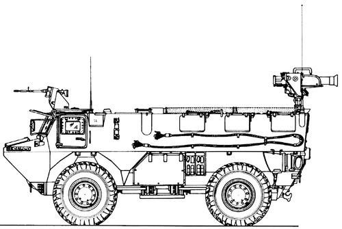 VAB 4x4 Milan