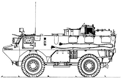 VAB 4x4 SAN (Sanitaire)