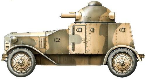 Vickers Crossley Model 25 Armored Car (1928)