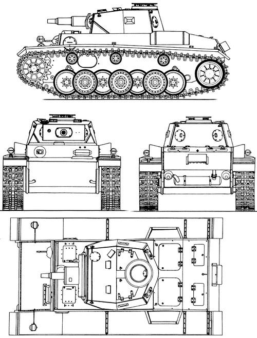 VK 30.01 (H) Pz.Kpfw.VI Ausf A