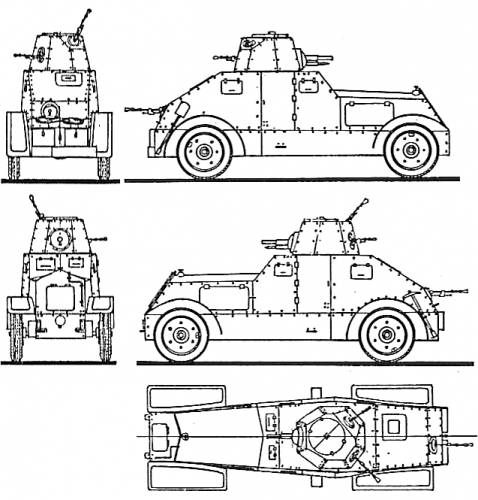 WZ-29 Ursus Armoured Car