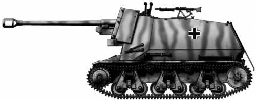 7.5cm Pak40(f) L-48 auf Geschutzwagen 39H(f) Marder I