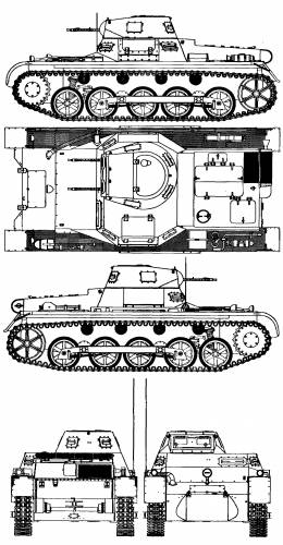 Battle tank IB