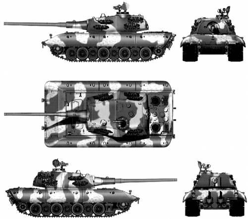 E-100 Jagdpanzer 'Krokodil'