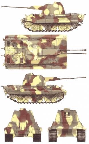 E-50 Falke Flakpanzer