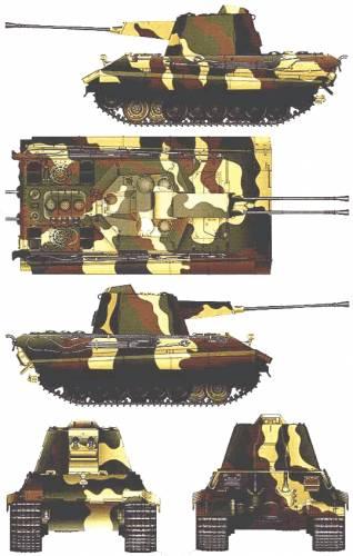 E-75 Flakpanze Crocodile