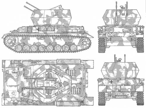 Flankpanzer IV Wilbelwind
