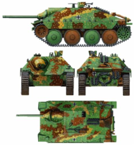 Jagdpanzer 38t Hetzer