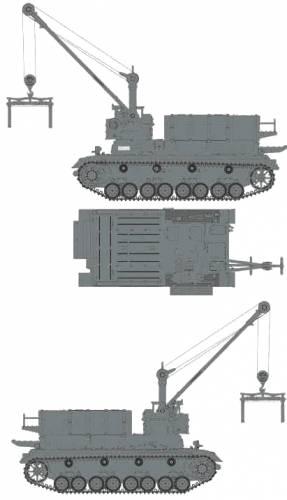 Munitionsschlepper Pz.Kpfw.IV Ausf.D