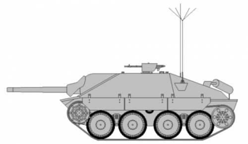 Panzerbefehlswagen 38(t) Hetzer