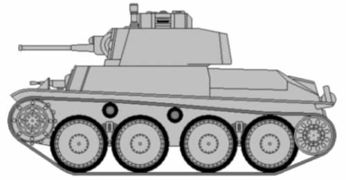 Pz.Kpfw. 38(t) Ausf.A