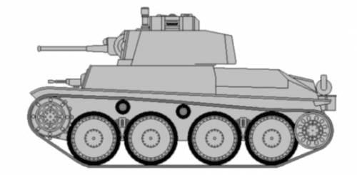 Pz.Kpfw. 38(t) Ausf.F