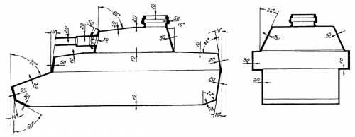Pz.Kpfw. IV - armoring scheme
