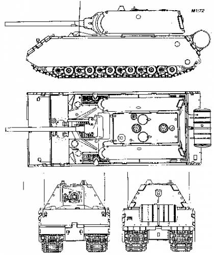 Pz.Kpfw. 'Maus' (Porsche 205)