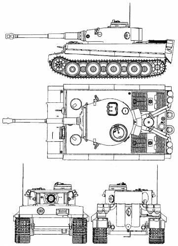 Pz.Kpfw. V Tiger I Ausf.H1