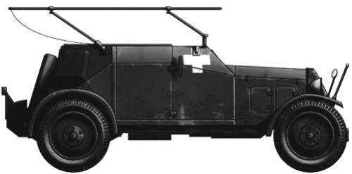 Adler Kfz.14 Waffenwagen