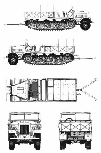 FAMO Sd.Kfz. 9-18T F3
