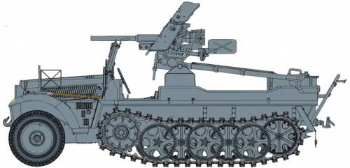 Sd.Kfz. 10 + 3.7cm PaK