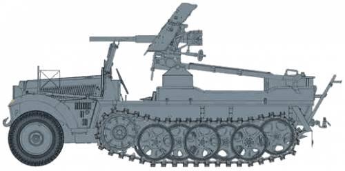 Sd.Kfz. 10 + 3.7cm PaK 35-36