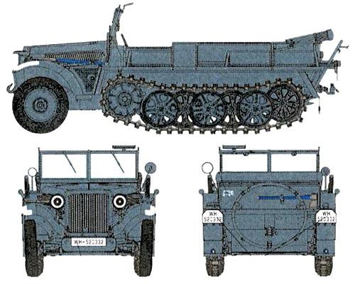 Sd.Kfz. 10 Ausf.A