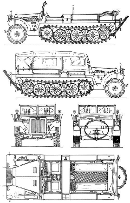 Sd.Kfz. 10 Zugkraftwagen