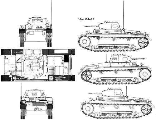 Sd. Kfz. 121 Pz.Kpfw.II Ausf.B