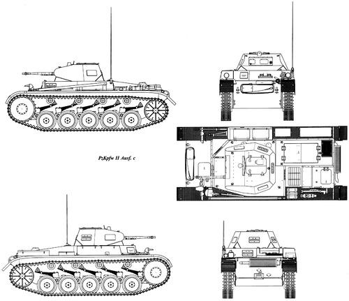 Sd. Kfz. 121 Pz.Kpfw.II Ausf.C