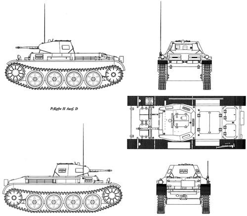 Sd. Kfz. 121 Pz.Kpfw.II Ausf.D