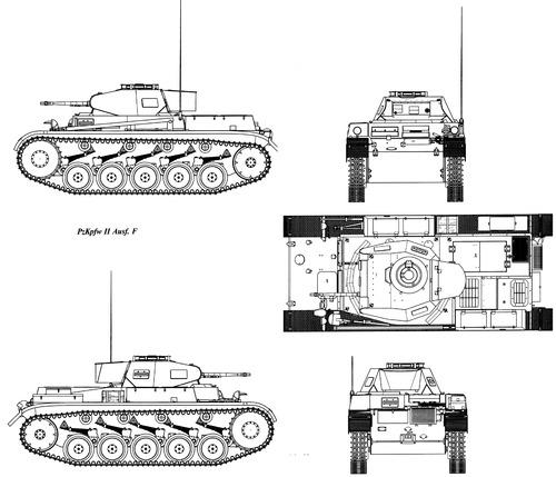 Sd. Kfz. 121 Pz.Kpfw.II Ausf.F