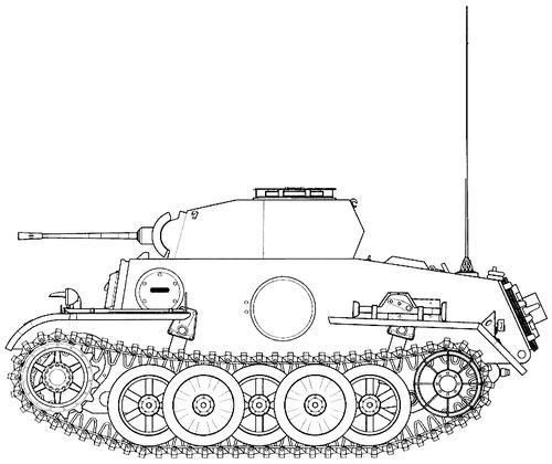 Sd. Kfz. 121 Pz.Kpfw.II Ausf.J