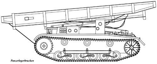 Sd. Kfz. 121 Pz.Kpfw.II Panzerlegerbrucken
