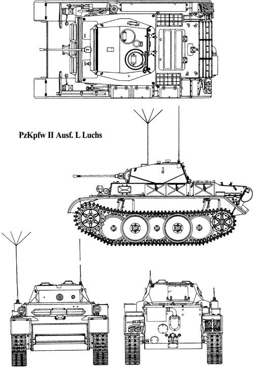 Sd. Kfz. 123 Pz.Kpfw.II Ausf.L Luchs