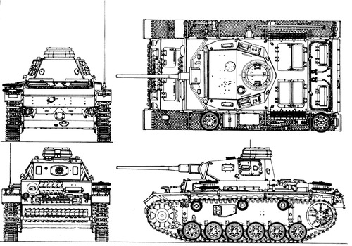Sd. Kfz. 141 Pz.Kpfw.III Ausf.J