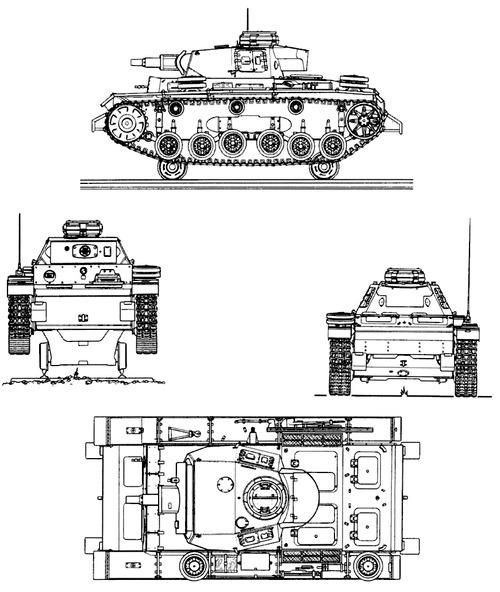 Sd. Kfz. 141 Pz.Kpfw.III SK1