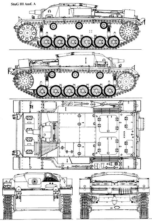 Sd. Kfz. 142-1 Sturmgeschutz III Ausf.A (StuG.III)
