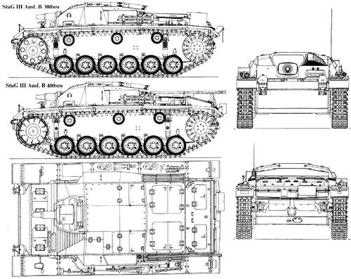 Sd. Kfz. 142-1 Sturmgeschutz III Ausf.B (StuG.III)