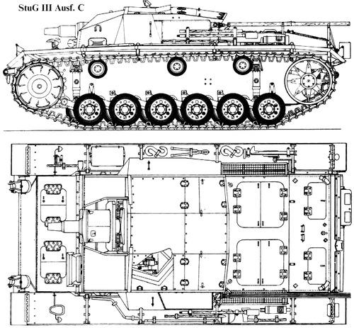 Sd. Kfz. 142-1 Sturmgeschutz III Ausf.C (StuG.III)