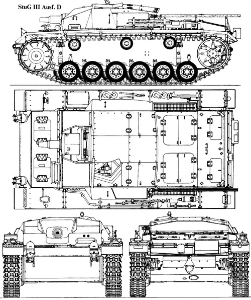 Sd. Kfz. 142-1 Sturmgeschutz III Ausf.D (StuG.III)