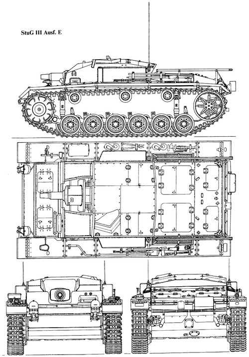 Sd. Kfz. 142-1 Sturmgeschutz III Ausf.E (StuG.III)