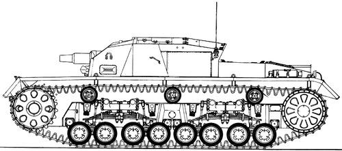 Sd. Kfz. 142-1 Sturmgeschutz III (StuG.III) O-Serie