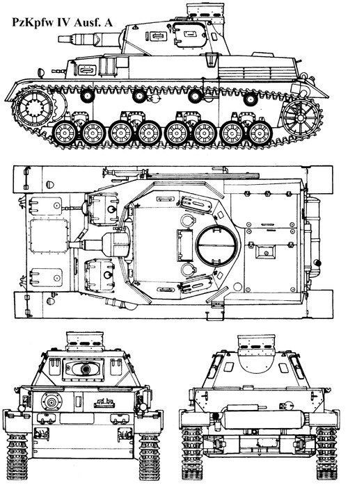 Sd. Kfz. 161 Pz.Kpfw.IV Ausf.A