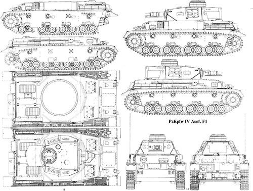 Sd. Kfz. 161 Pz.Kpfw.IV Ausf.F1