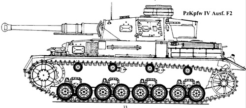 Sd. Kfz. 161 Pz.Kpfw.IV Ausf.F2